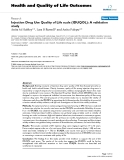 Health and Quality of Life Outcomes BioMed Central  Research  Open Access  Injection Drug Use