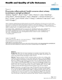 """báo cáo hóa học:""""  Do proxies reflect patients' health concerns about urinary incontinence and gait problems?"""""""