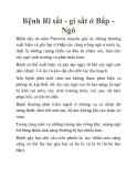 Bệnh Rĩ sắt - gỉ sắt ở Bắp Ngô