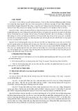 """Nghiên cứu khoa học """" XÁC ĐỊNH MỘT SỐ TÍNH CHẤT CƠ VẬT LÝ VÀ KHẢ NĂNG SỬ DỤNG GỖ LÁT MÊHICÔ  """""""