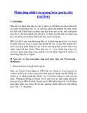 Phản ứng nhiệt và quang hóa (pericyclic reactio