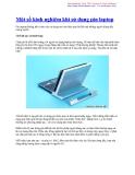 Một số kinh nghiệm khi sử dụng pin laptop