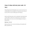 Jeans và chọn cách mix jeans xuân - hè 2012