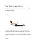 Yoga cho phần ngực gợi cảm