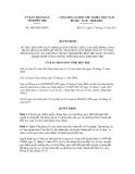 Quyết định số 3003/QĐ-UBND