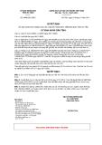 Quyết định số 4080/QĐ-UBND