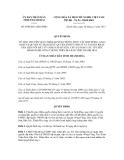 Quyết định số 4500/2011/QĐ-UBND