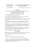 Quyết định số 36/2011/QĐ-UBND