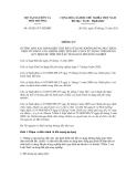 Thông tư số 45/2011/TT-BTNMT