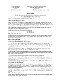Quyết định số 155/2011/QĐ-UBND