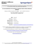 """Báo cáo toán học: """" On the boundedness of the solutions in nonlinear discrete Volterra difference equations"""""""
