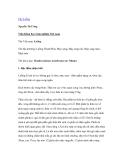 """Nghiên cứu khoa học """" Cây Luồng Nguyễn Tử Ưởng Viện Khoa học Lâm nghiệp Việt nam """""""