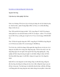 """Nghiên cứu khoa học """" Các loài tre với dự án trồng mới 5 triệu ha rừng Nguyễn Tử Ưởng Viện khoa học Lâm nghiệp Việt Nam """""""