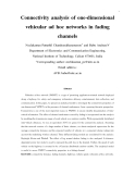 "Báo cáo toán học: "" Connectivity analysis of one-dimensional vehicular ad hoc networks in fading channels"""