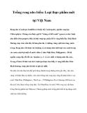 Trồng rong nho biển: Loại thực phẩm mới tại Việt Nam