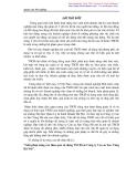 """ĐỀ TÀI : """"GIẢI PHÁP VỀ NÂNG CAO HIỆU QUẢ SỬ DỤNG TSCĐ TẠI CÔNG TY CAO SU SAO VÀNG HÀ NỘI""""."""