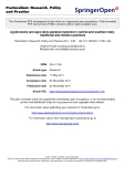 """Báo cáo hóa học: """"   Agroforestry and agro-silvo-pastoral systems in central and southern Italy: traditional and modern practices"""""""