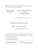Mẫu số 1b: Hướng dẫn đăng ký giao ước thi đua hàng năm. (Dùng cho Sở Lao động - Thương binh và Xã hội các tỉnh, thành phố)