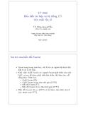 ET 2060 Biểu diễn tín hiệu và hệ thống LTI trên miền tần số ( TS. Đặng Quang Hiếu )
