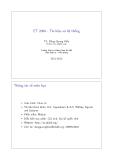 ET 2060 - Tín hiệu và hệ thống ( TS. Đặng Quang Hiếu )