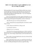 THỨC ĂN CHO TÔM VÀ QUY TRÌNH TỰ SẢN XUẤT Ở HỘ GIA ĐÌNH