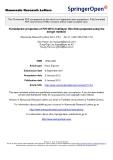 "Báo cáo hóa học: ""  Ferroelectric properties of PZT/BFO multilayer thin films prepared using the sol-gel method"""