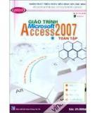 Giáo Trình Microsoft Access 2007