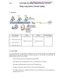 Bài 4: Giới thiệu hệ thống Mạng Domain Network - Dùng trong Quản lý doanh nghiệp