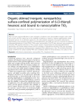 "Báo cáo hóa học: ""Organic-skinned inorganic nanoparticles: surface-confined polymerization of 6-(3-thienyl) hexanoic acid bound to nanocrystalline TiO2"""
