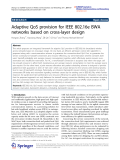 """Báo cáo hóa học: """"Adaptive QoS provision for IEEE 802.16e BWA networks based on cross-layer design"""""""
