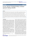 """Báo cáo hóa học: """"  On the capacity of Rayleigh-fading correlated spectrum sharing networks"""""""