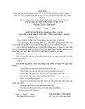 MẪU ĐƠN XIN THÀNH LẬP (HOẶC CHIA, TÁCH, SÁP NHẬP, HỢP NHẤT) TỔ CHỨC TÔN GIÁO TRỰC THUỘC