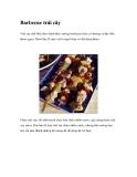 Barbecue trái cây