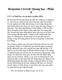Benjamin Crowell: Quang học - Phần 4