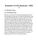 Benjamin Crowell: Quang học - Phần 3