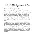 Vật lí - Các khái niệm và quan hệ (Phần 11)