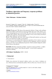 """Báo cáo hóa học: """" Nonlinear eigenvalue and frequency response problems in industrial practice"""""""