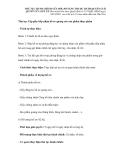 THỦ TỤC HÀNH CHÍNH SỬA ĐỔI, BỔ SUNG THUỘC THẨM QUYỀN GIẢI QUYẾT CỦA SỞ Y