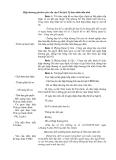 Hiệp thương giá theo yêu cầu của Chủ tịch Uỷ ban nhân dân tỉnh