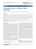 """báo cáo hóa học: """"  Track-before-detect in distributed sensor applications"""""""