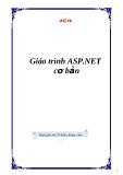 Giáo trình ASP.NET cơ bản
