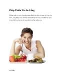 Phép Thiền Từ Ăn Uống