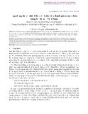 """Nghiên cứu khoa học """" Ứng dụng chỉ số nhiệt thực vật cho việc đánh giá sa mạc hóa vùng bờ biển ở Việt Nam """""""