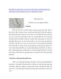 """Nghiên cứu khoa học """" Bệnh đốm tím lá Bạch đàn ở vườn ươm và rừng trồng do nấm Phaeophleospora epicocoides (Cooke & Massee) Crous, F.A. Ferreira & B. Sutton """""""