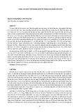 """Nghiên cứu khoa học """" CÔNG TÁC BẢO TỒN NGUỒN GEN CÂY RỪNG GIAI ĐOẠN 1996-2010 """""""