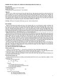 """Nghiên cứu khoa học """" NGHIÊN CỨU XÂY DỰNG CÁC THÔNG SỐ CÔNG NGHỆ UỐN ÉP GỖ KEO LAI """""""