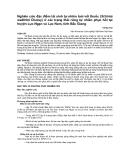 """Nghiên cứu khoa học """" Nghiên cứu đặc điểm tái sinh tự nhiên loài vối thuốc (Schima wallichii Choisy) ở các trạng thái rừng tự nhiên phục hồi tại huyện Lục Ngạn và Lục Nam, tỉnh Bắc Giang """""""