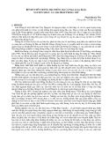 """Nghiên cứu khoa học """" Bệnh tuyến trùng hại thông ba lá Pinus kesiya Royle, nguyên nhân và giảI pháp phòng trừ  """""""