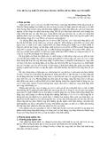 """Nghiên cứu khoa học """" ứng dụng xạ khuẩn Frankia trong trồng rừng Phi lao ven biển """""""