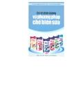 Giá trị dinh dưỡng và phương pháp chế biến sữa part 1